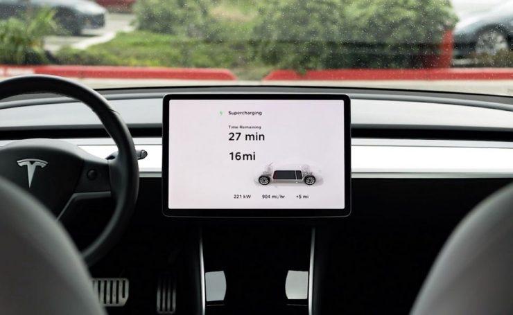 Tesla Supercargadores V3