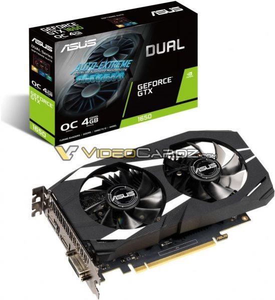 Asus GeForce GTX 1650 Dual OC 549x600 1