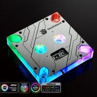 Bitspower Touchaqua: Bloque de agua para CPUs Intel con pantalla OLED e iluminación RGB