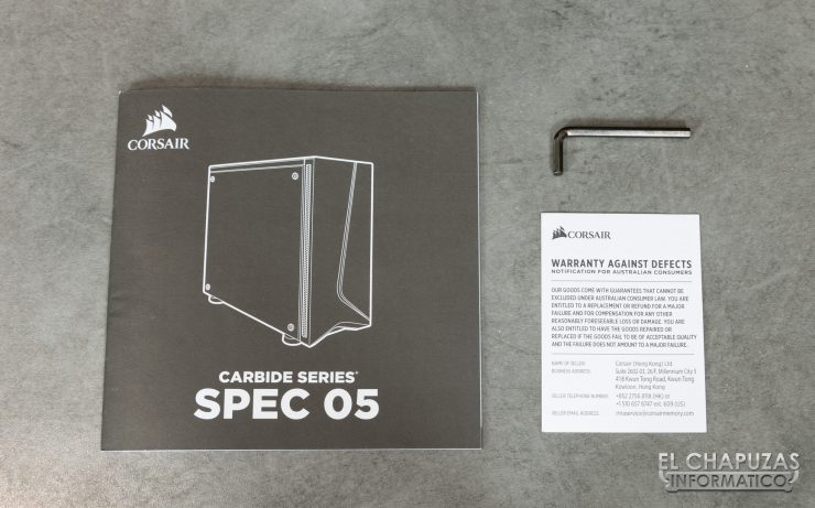 Corsair Carbide SPEC-05 - Accesorios 1