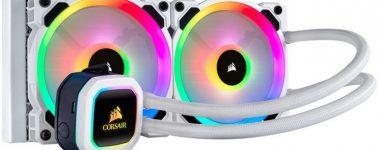 Corsair llama a devolver algunas líquidas H100i RGB Platinum SE por la fuga del líquido refrigerante