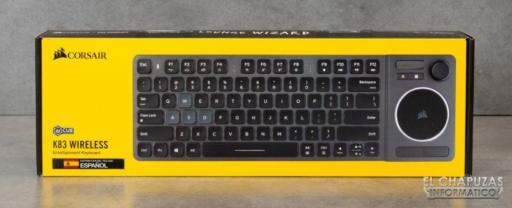 Corsair K83 - Embalaje 1