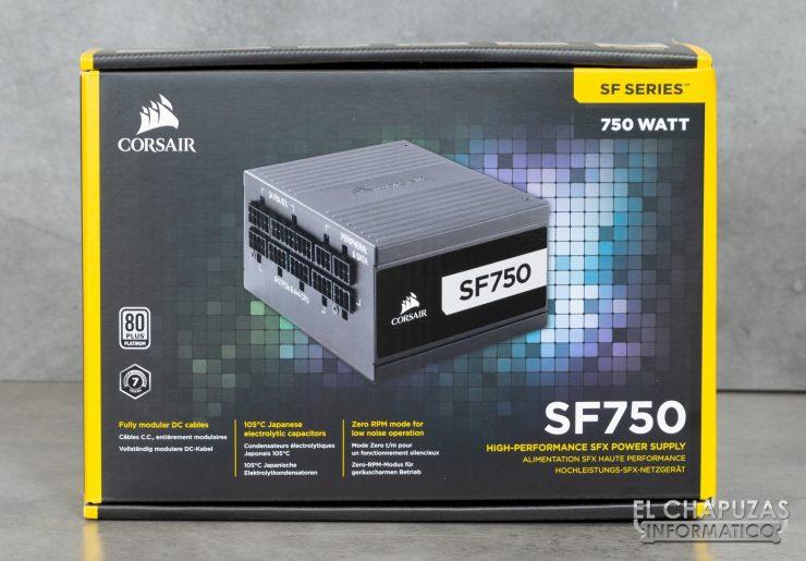Corsair SF750 - Embalaje 1