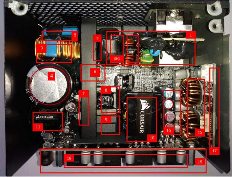 Corsair SF750 - Interior 3