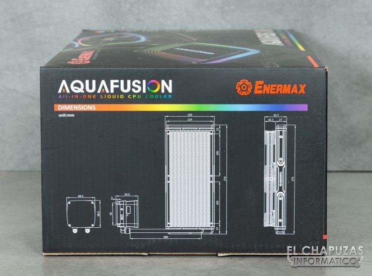 Enermax AquaFusion 240 - Embalaje 2