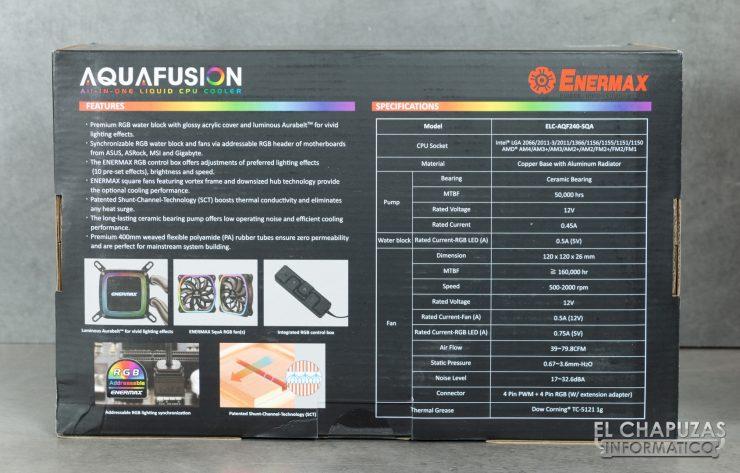 Enermax AquaFusion 240 - Embalaje 3