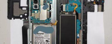 Así es el interior del Galaxy Fold, el smartphone plegable de Samsung