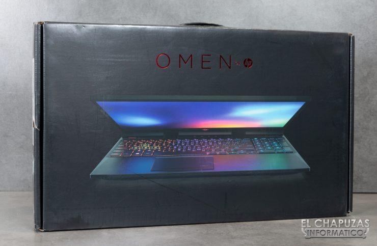 HP Omen 15-DC1000NS - Embalaje 1