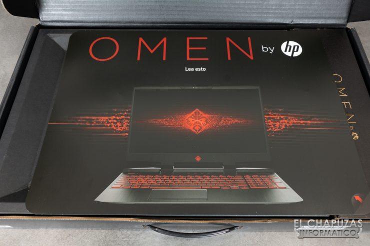 HP Omen 15-DC1000NS - Embalaje 2