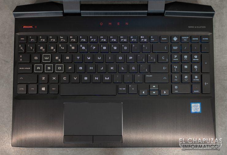 HP Omen 15-DC1000NS - Abierto 3
