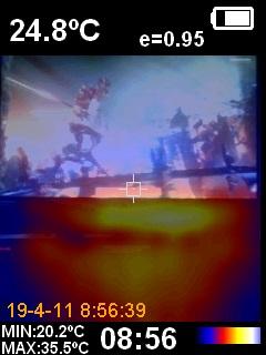 HP Omen 15 DC1000NS Térmica 37