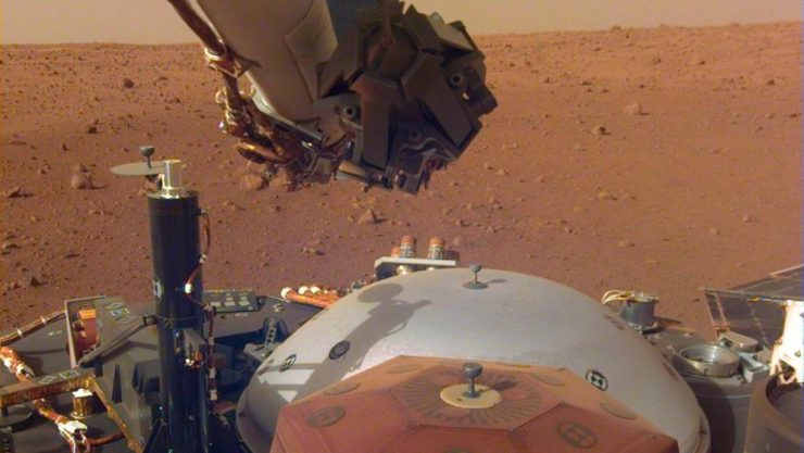 InSight NASA Marte