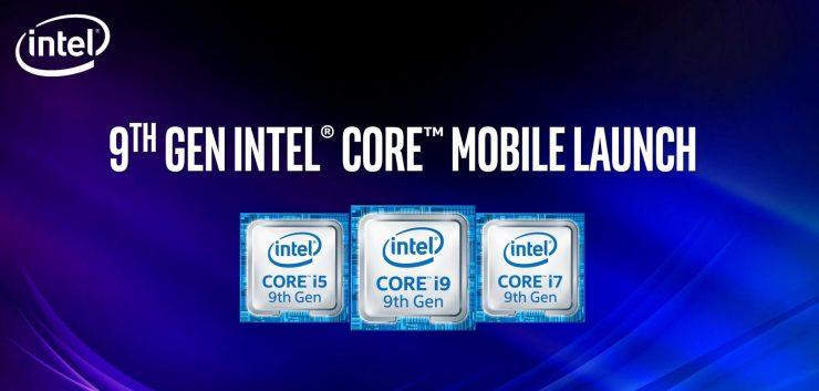 Intel Core de 9Gen Mobile