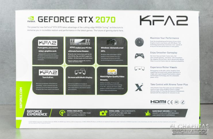 KFA2 GeForce RTX 2070 White Mini - Embalaje 2