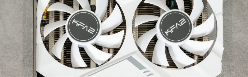 Review: KFA2 GeForce RTX 2070 White Mini