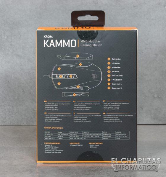 Krom Kammo - Embalaje 4