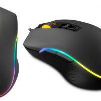 Krom Kane: Ratón gaming RGB con sensor Avago A3050 por 24.90 euros