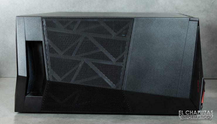 MSI Infinite X 9th - Lateral Superior