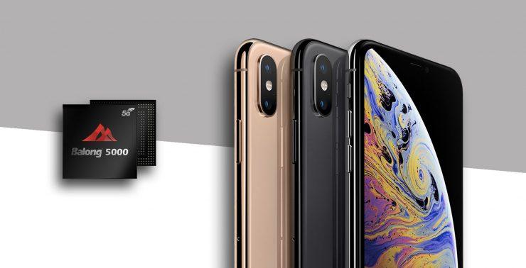 Modem 5G Huawei en dispositivos Apple 740x378 0