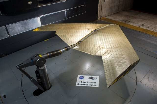 NASA MIT Ala avión flexible
