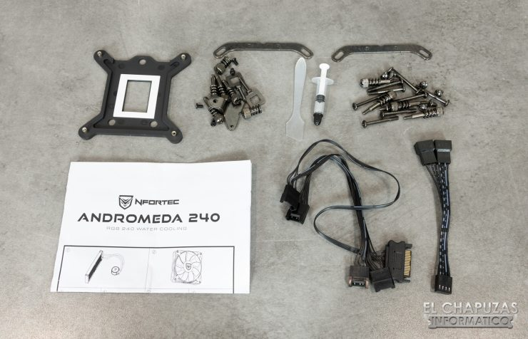 Nfortec Andromeda 240 - Accesorios