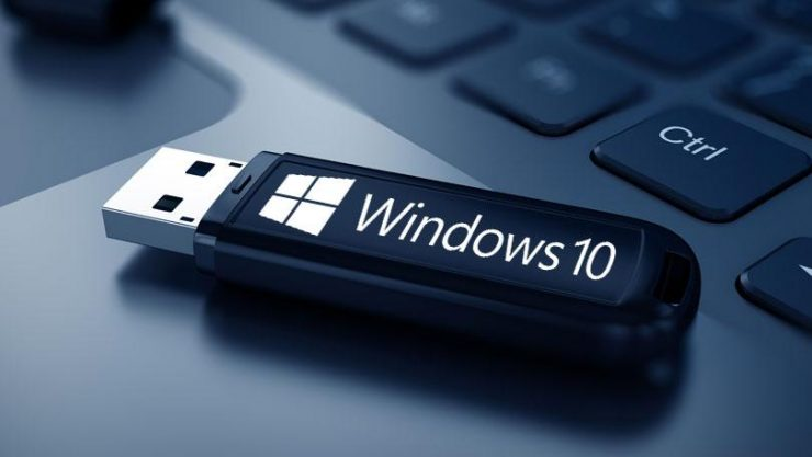Pendrive Windows 10 740x417 0