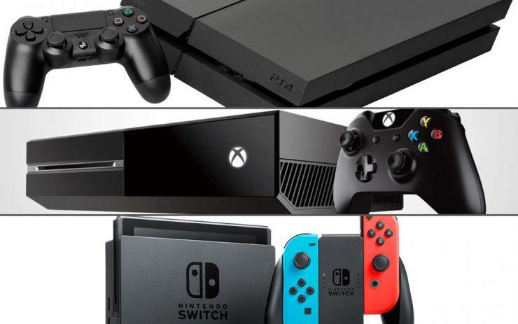 PlayStation 4 vs Xbox One vs Nintendo Switch 740x463 0