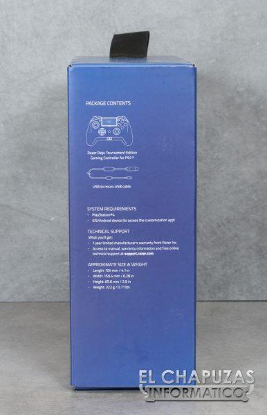 Razer Raiju Tournament Edition - Embalaje 3