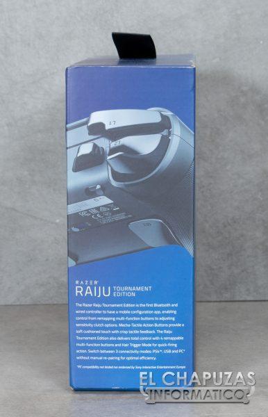 Razer Raiju Tournament Edition - Embalaje 2