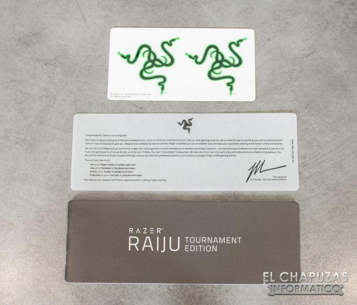 Razer Raiju Tournament Edition - Accesorios 1