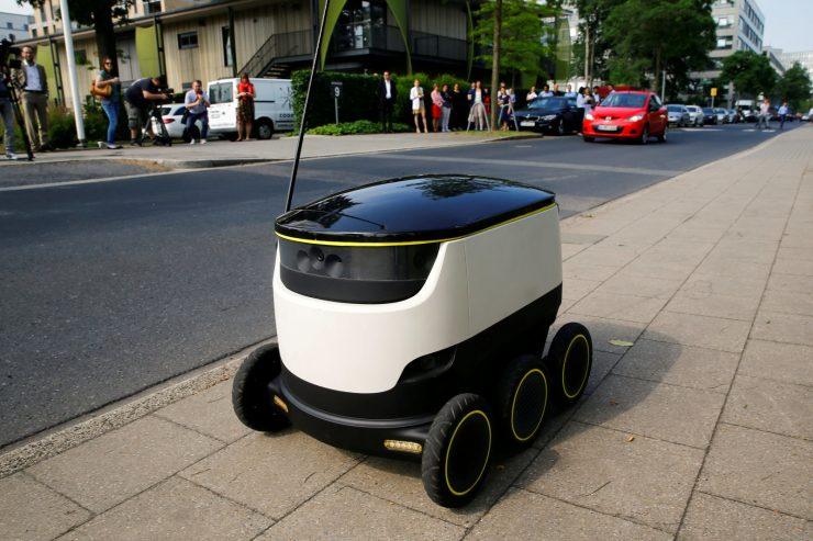 Robot cartero de Starship