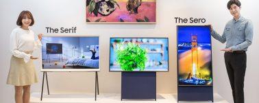 Samsung Sero: Un curioso televisor QLED para reproducir vídeos en vertical