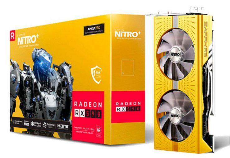 Nitro+ Radeon RX 590 50th Anniversary