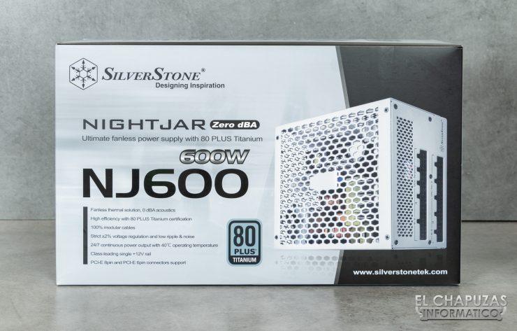 SilverStone Nightjar NJ600 - Embalaje 1