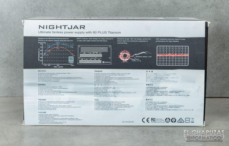 SilverStone Nightjar NJ600 - Embalaje 3