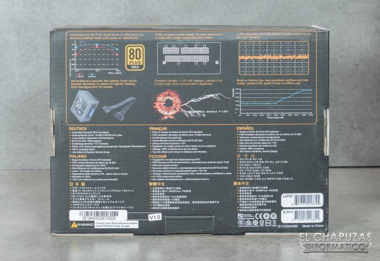 SilverStone SX700-G - Embalaje 3