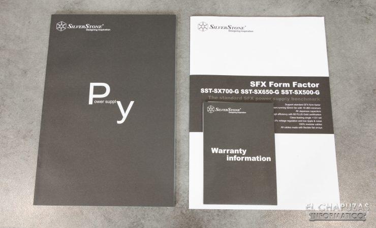 SilverStone SX700-G - Accesorios 1