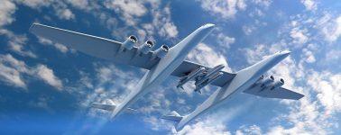 El avión más grande del mundo, el Stratolaunch, realiza su primer vuelo de prueba