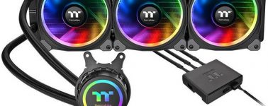 Thermaltake Floe Riing RGB 360 TR4 Edition: Líquida para los AMD Threadripper