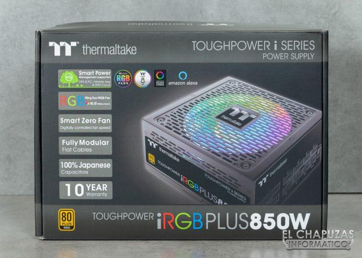 Thermaltake Toughpower iRGB Plus - Embalaje 1