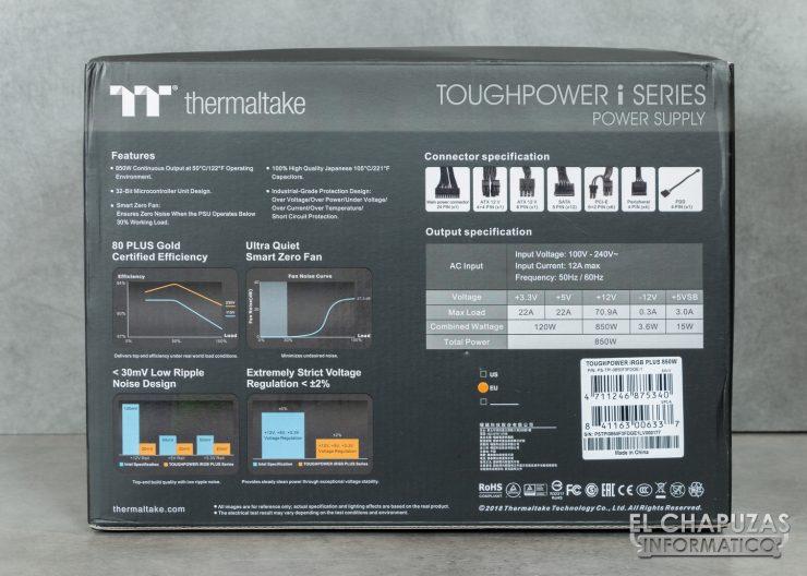 Thermaltake Toughpower iRGB Plus - Embalaje 3