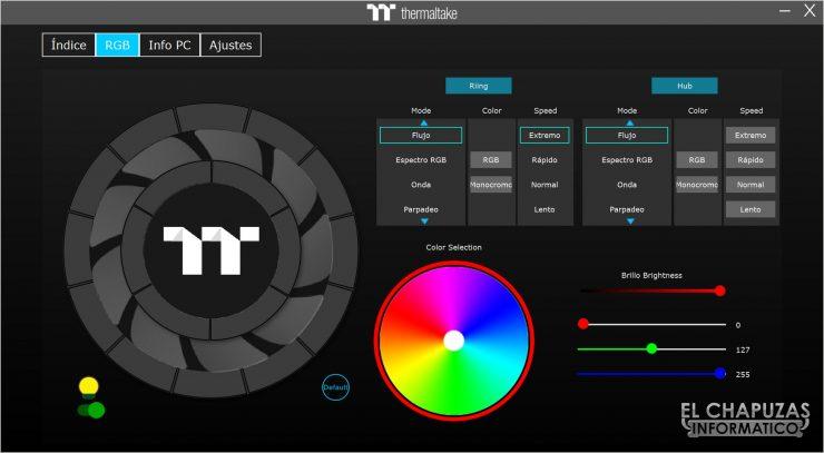Thermaltake Toughpower iRGB Plus - Software 2