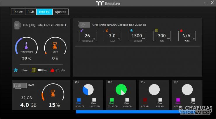 Thermaltake Toughpower iRGB Plus - Software 3