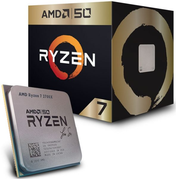 Ryzen 7 2700X Gold Edition