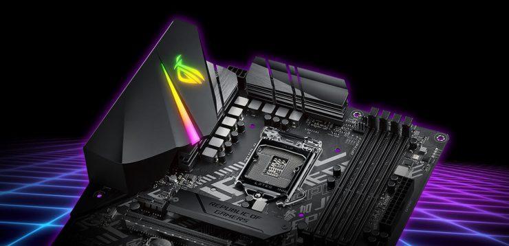 VRM ROG Strix B365-F Gaming