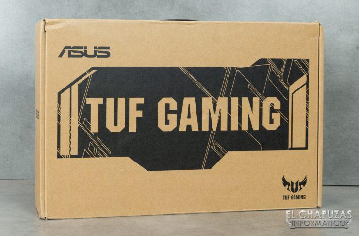 Asus TUF Gaming FX505D - Embalaje Externo