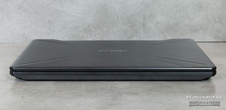 Asus TUF Gaming FX505D - Lado 1