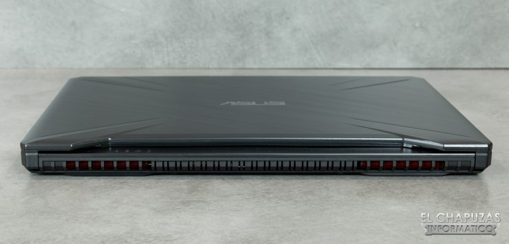 Asus TUF Gaming FX505D - Lado 2