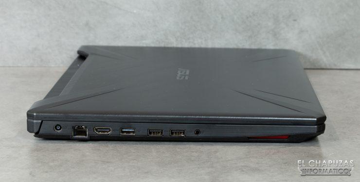 Asus TUF Gaming FX505D - Lado 3