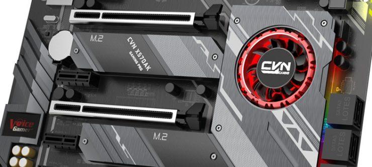 Chipset AMD X570 refrigeración
